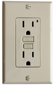 GROUND FAULT INTERRUPTING OUTLET WHEN BUYING HOUSE OR APARTMENT OR LOFT